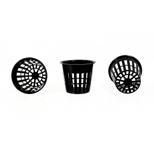3 inch net pots for Hydroponics, Aquaponics, Aeroponics & Nursery, 50 Pieces